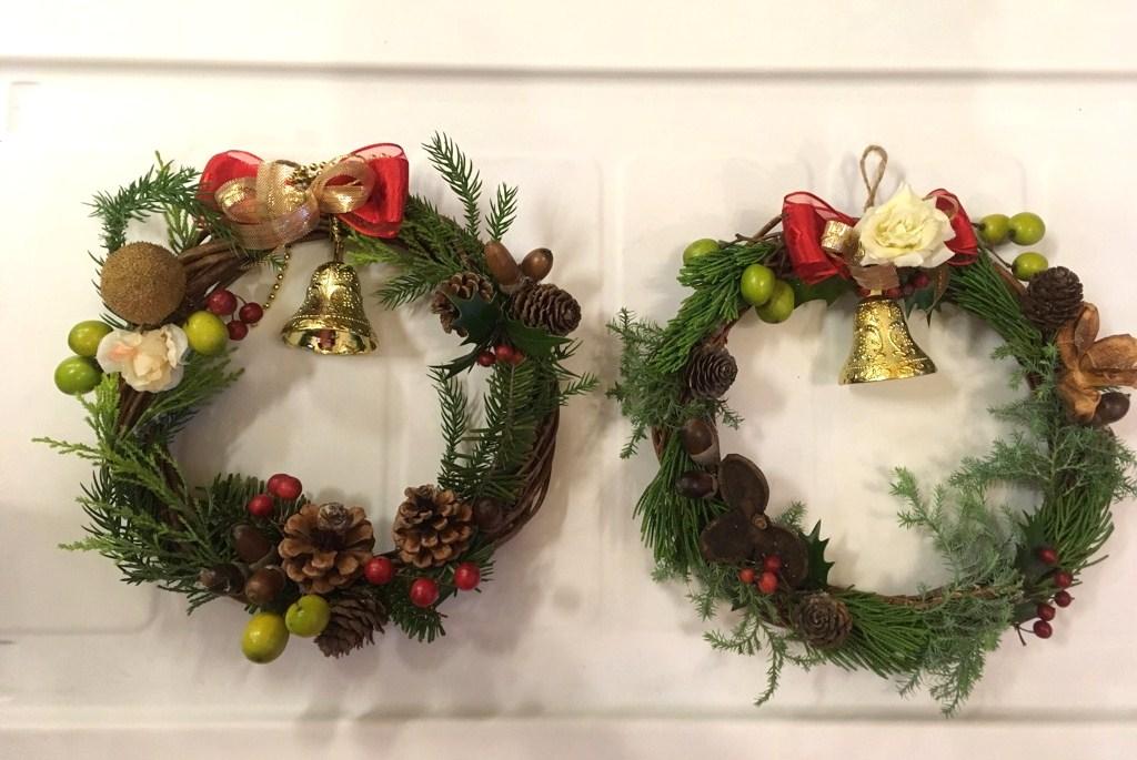 クリスマス会&礼拝に向けて、リース作り!_d0120628_0135971.jpg