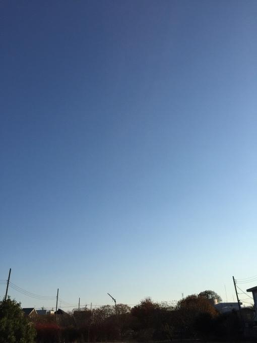 師走の東京の空_a0103940_23341133.jpg