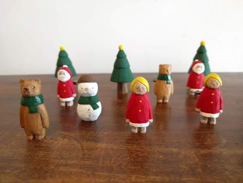 江籠正樹さんのクリスマス人形完売しました_a0265743_22395189.jpg