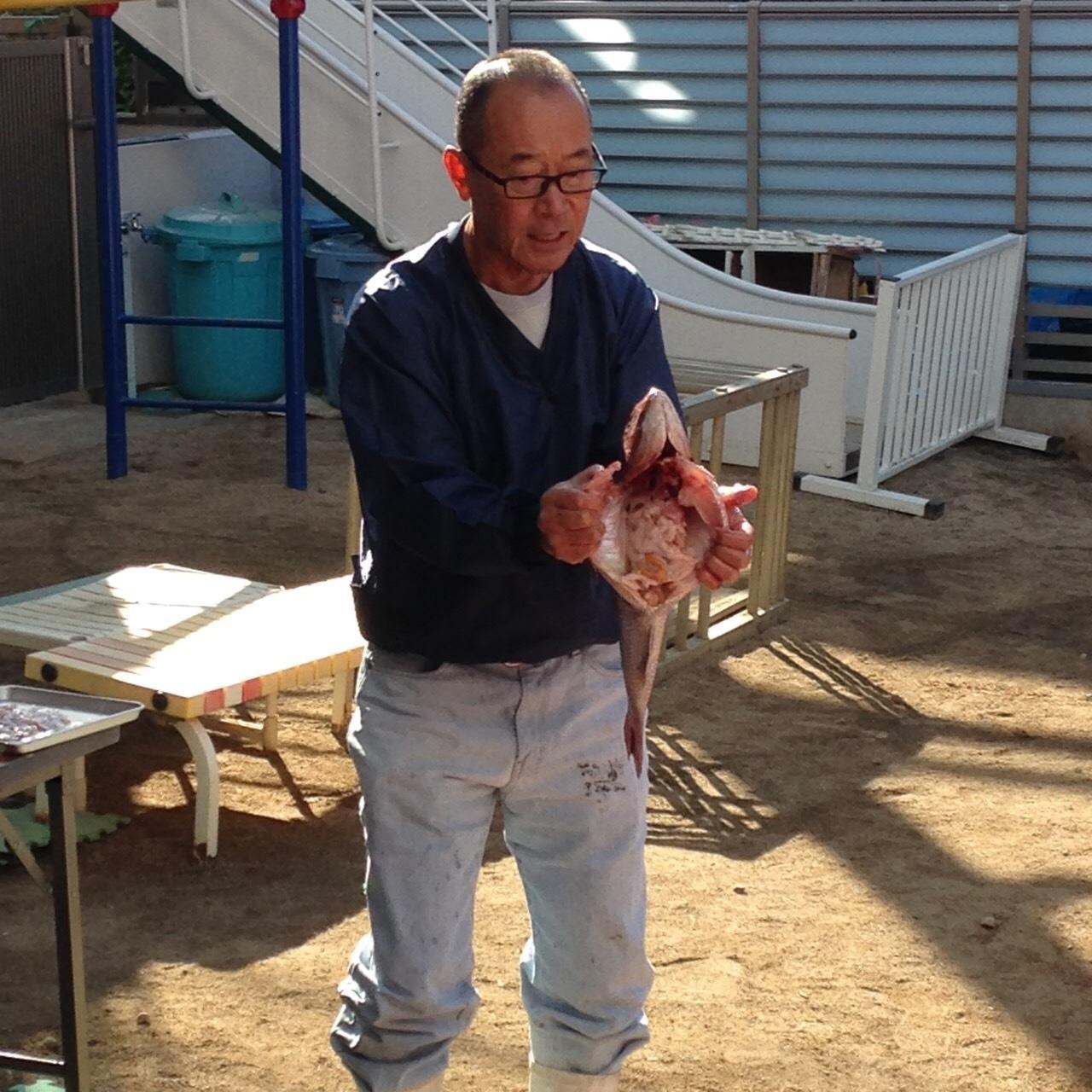 食育  魚の解体ショーしました🐟_c0151262_21410259.jpg