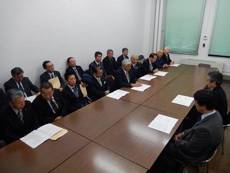 2016.12.7 水源林造成事業予算に関する要望活動_a0255967_17425042.jpg