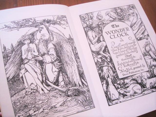 Book:ハワード・パイル:The Wonder Clock_c0084183_12375966.jpg
