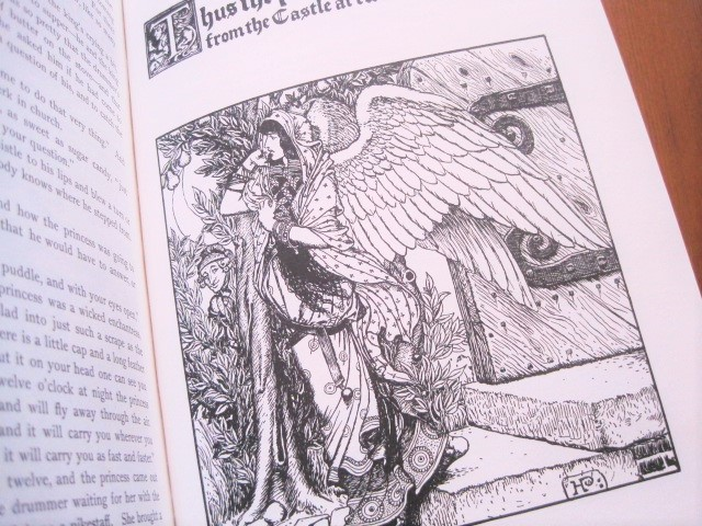 Book:ハワード・パイル:The Wonder Clock_c0084183_12381917.jpg