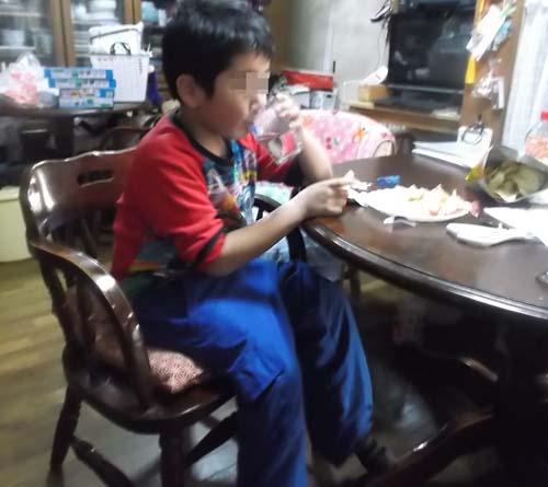 小学1年の孫が遊びに来た_f0019498_9104247.jpg