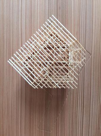 稲田堤の家の軸組模型_c0195909_106165.jpg