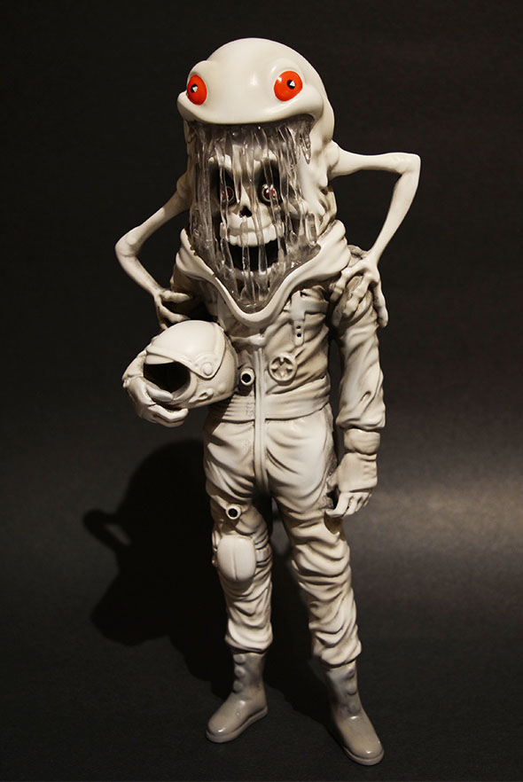 The Astronaut (Abominable edition) by Alex Pardee_e0118156_15513284.jpg