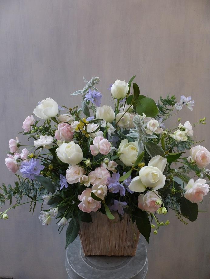 オークリーフ(初冬のバラのアレンジメント)_f0049672_1852342.jpg