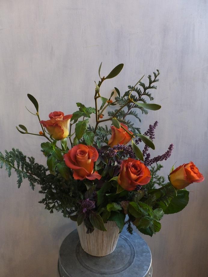オークリーフ(初冬のバラのアレンジメント)_f0049672_18562089.jpg