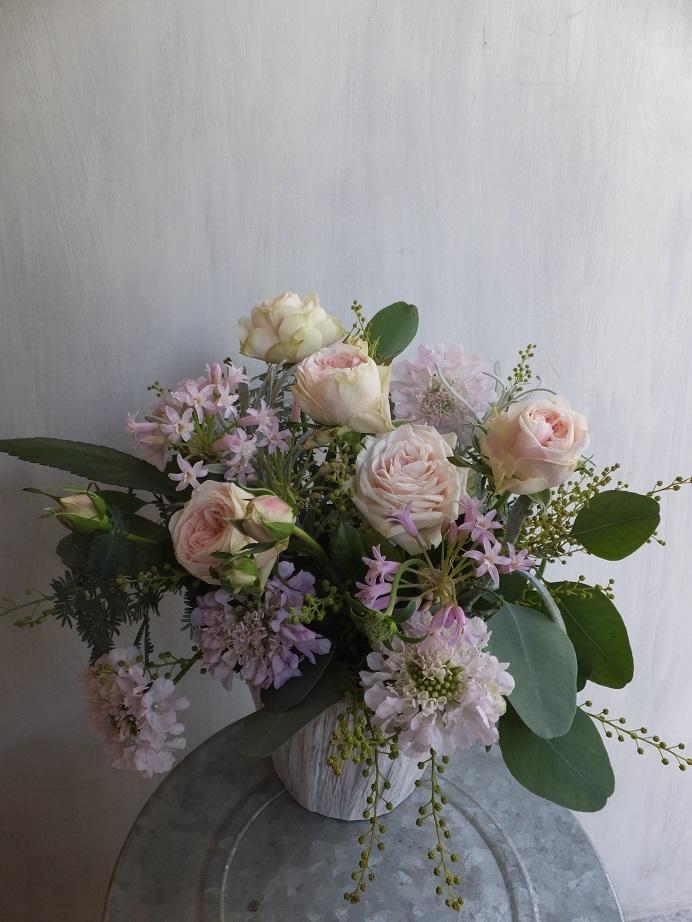 オークリーフ(初冬のバラのアレンジメント)_f0049672_18571691.jpg