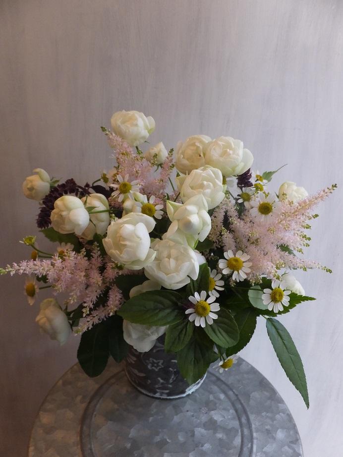 オークリーフ(初冬のバラのアレンジメント)_f0049672_18575849.jpg