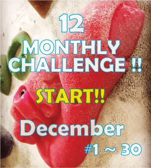 MONTHLY CHALLENGE 12月_d0246875_10165518.jpg