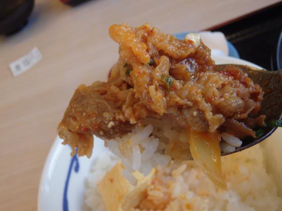松屋の豆腐キムチチゲ膳   門真店_c0118393_12542038.jpg