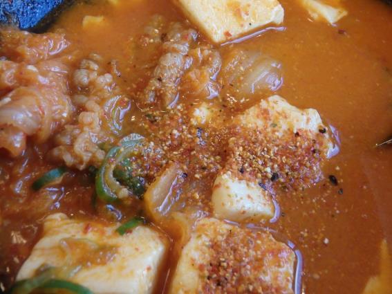 松屋の豆腐キムチチゲ膳   門真店_c0118393_137236.jpg