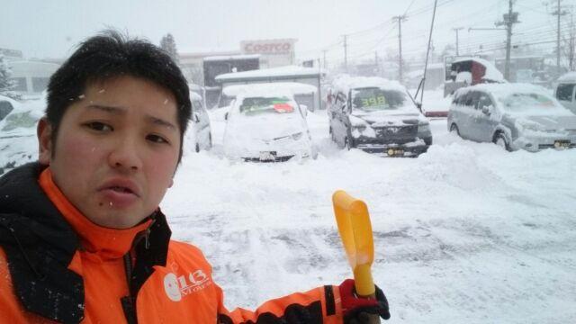 12月11日(日)TOMMYアウトレット☆大雪!ワカブログ★自社ローン♪_b0127002_17362757.jpg