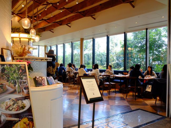 「新宿NEWoMAN(ニュウマン) ROSEMARY\'S TOKYOのパスタランチ」_a0000029_1840279.jpg