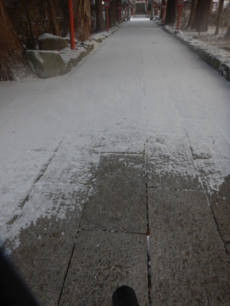 初積雪初除雪_c0111229_21543297.jpg