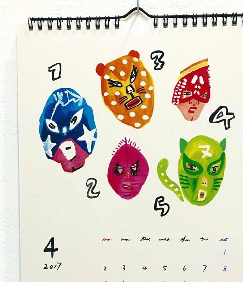 本日12/11最終日!『5inch & megumi murakami Christamas Exhibition』2017年のラッキーを呼び込もう_a0017350_04302627.jpg