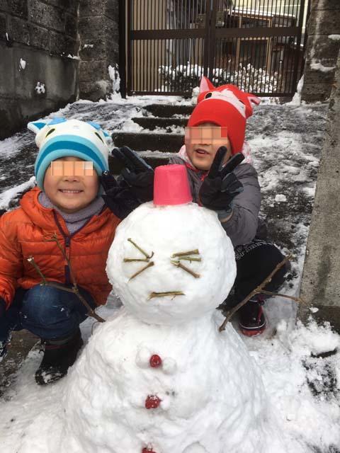 雪だるま&大根のしょう油漬け_f0019498_1892118.jpg