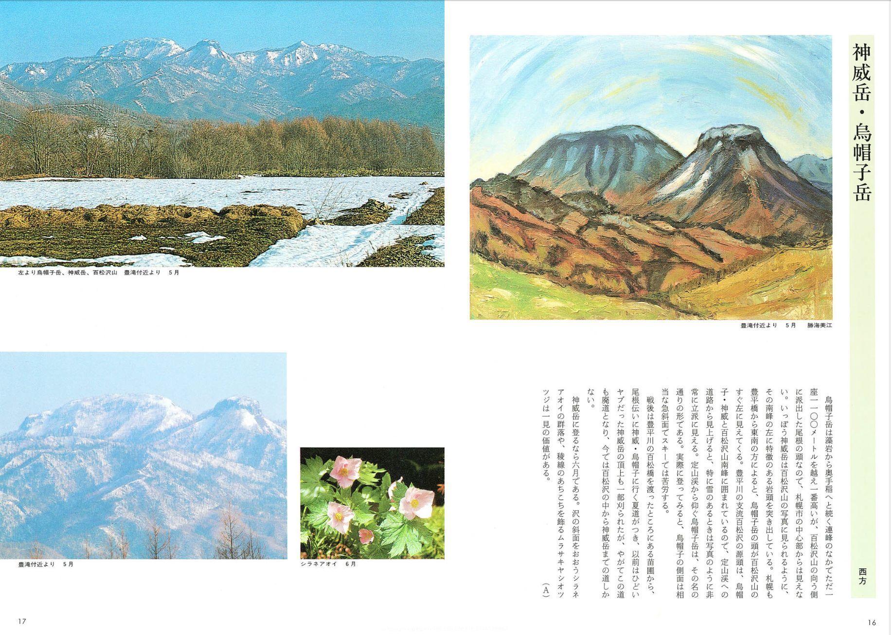 私の部屋から見える山(神威岳)_c0025115_20375221.jpg
