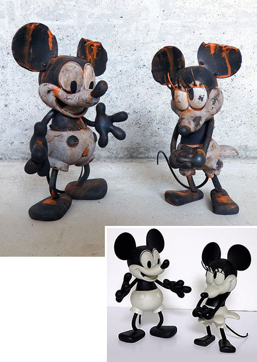 Mickey Mouse & Minnie Mouse by DrilOne_e0118156_21282625.jpg