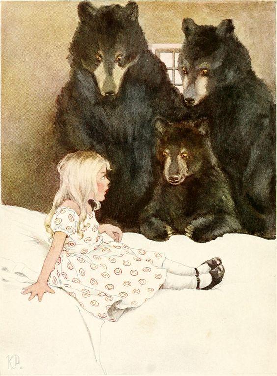 キャサリン・パイル画:三匹の熊_c0084183_114462.jpg