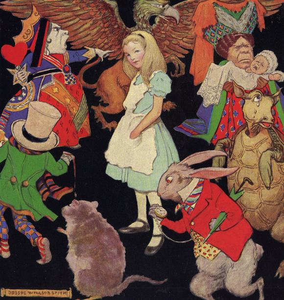 ジェシー・ウィルコック・スミス画のアリス絵_c0084183_19214429.jpg