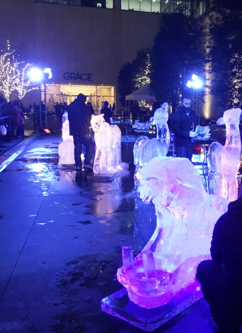 氷アートのライブ・パフォーマンス、Grace-ful Ice: Safari_b0007805_072995.jpg
