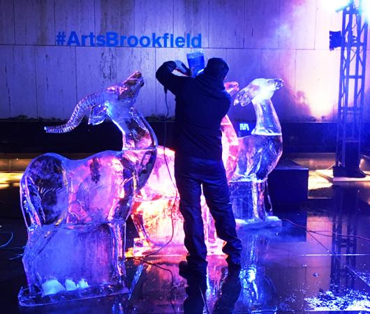 氷アートのライブ・パフォーマンス、Grace-ful Ice: Safari_b0007805_07589.jpg