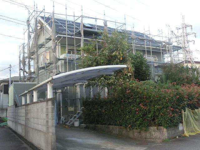 今年は、築22年の自宅で2度目の外壁塗装とソーラー発電開始!_f0141310_7354139.jpg