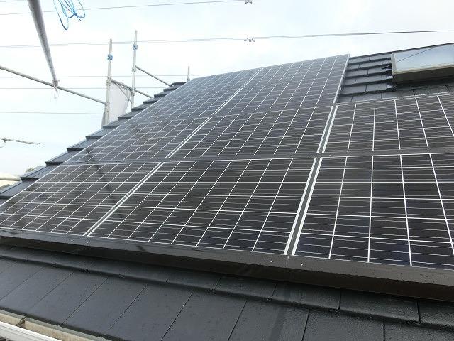 今年は、築22年の自宅で2度目の外壁塗装とソーラー発電開始!_f0141310_7375481.jpg