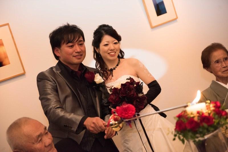 Wedding Photo! T&M~美女と野獣?!_e0120789_21455913.jpg