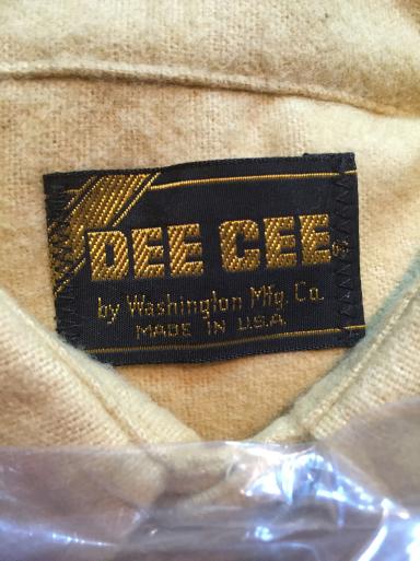 アメリカ仕入れ情報#42 デッドストック発見22 DeeCeeシャモアクロスネルシャツ!_c0144020_09285056.jpg