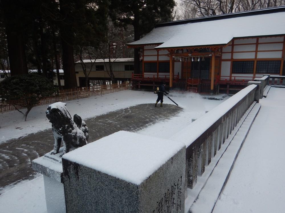 早朝除雪から_c0111229_18331606.jpg