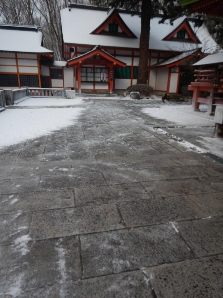 早朝除雪から_c0111229_18332340.jpg