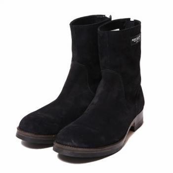 BACK ZIP BOOTS/BLK-SUEDE 再販売_d0100143_18395843.jpg