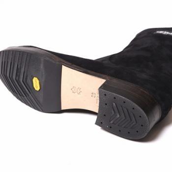 BACK ZIP BOOTS/BLK-SUEDE 再販売_d0100143_18403036.jpg