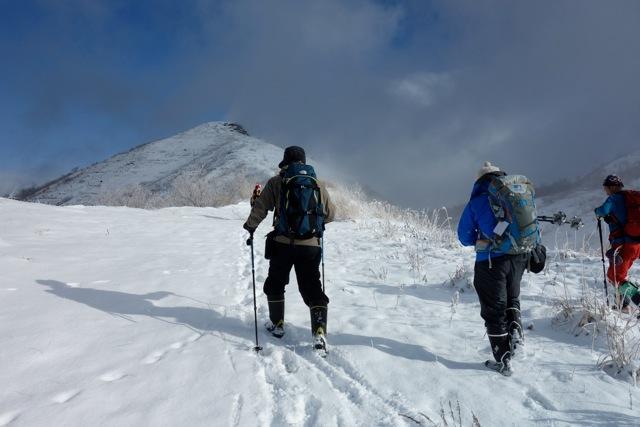 有珠山、12月11日-同行者からの写真-_f0138096_18173944.jpg