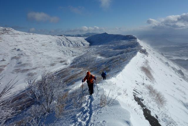 有珠山、12月11日-同行者からの写真-_f0138096_18181742.jpg