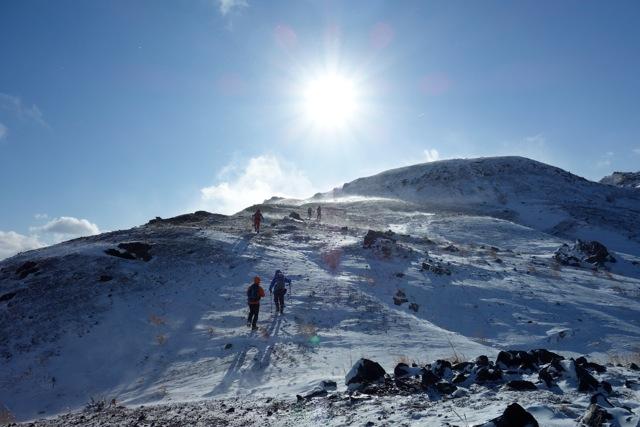 有珠山、12月11日-同行者からの写真-_f0138096_18183067.jpg