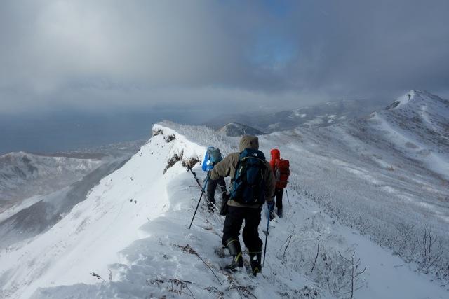 有珠山、12月11日-同行者からの写真-_f0138096_181848.jpg