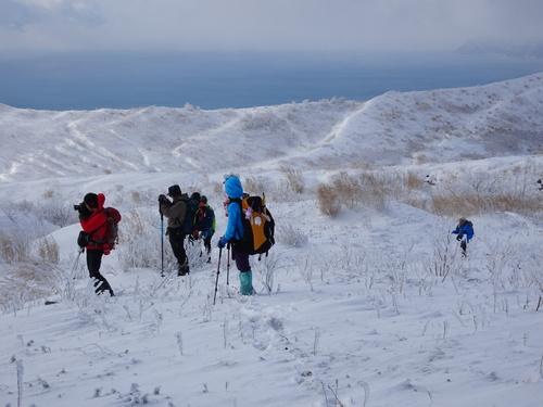 有珠山、12月11日-同行者からの写真-_f0138096_18202694.jpg