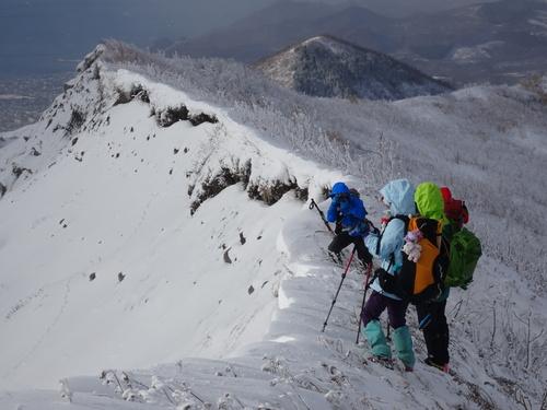 有珠山、12月11日-同行者からの写真-_f0138096_18205374.jpg