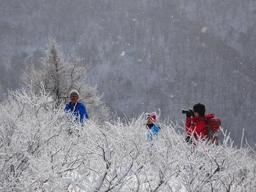 有珠山、12月11日-同行者からの写真-_f0138096_1820934.jpg