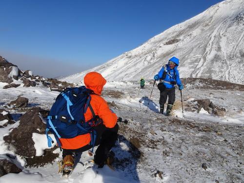 有珠山、12月11日-同行者からの写真-_f0138096_18213163.jpg