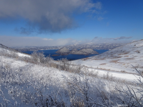 有珠山、12月11日-同行者からの写真-_f0138096_1821621.jpg
