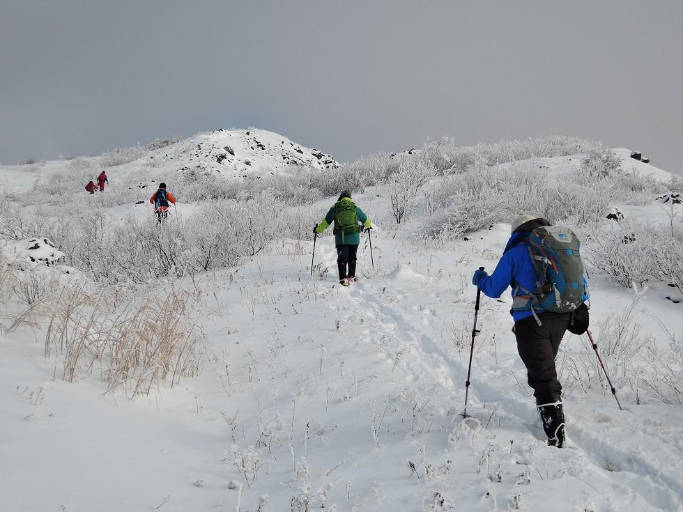 有珠山、12月11日-同行者からの写真-_f0138096_1823169.jpg