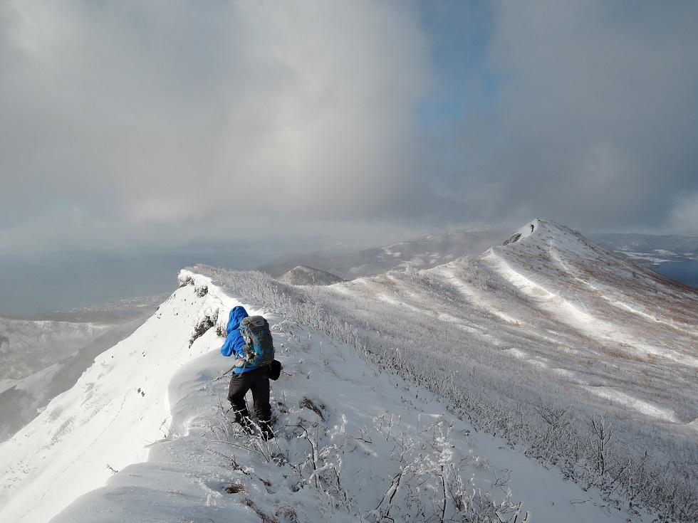 有珠山、12月11日-同行者からの写真-_f0138096_18231829.jpg