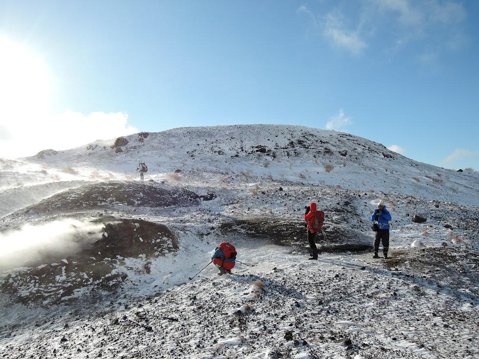 有珠山、12月11日-同行者からの写真-_f0138096_18233580.jpg