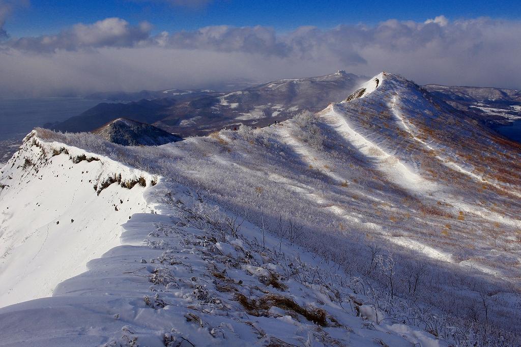 有珠山、12月11日-同行者からの写真-_f0138096_18241226.jpg