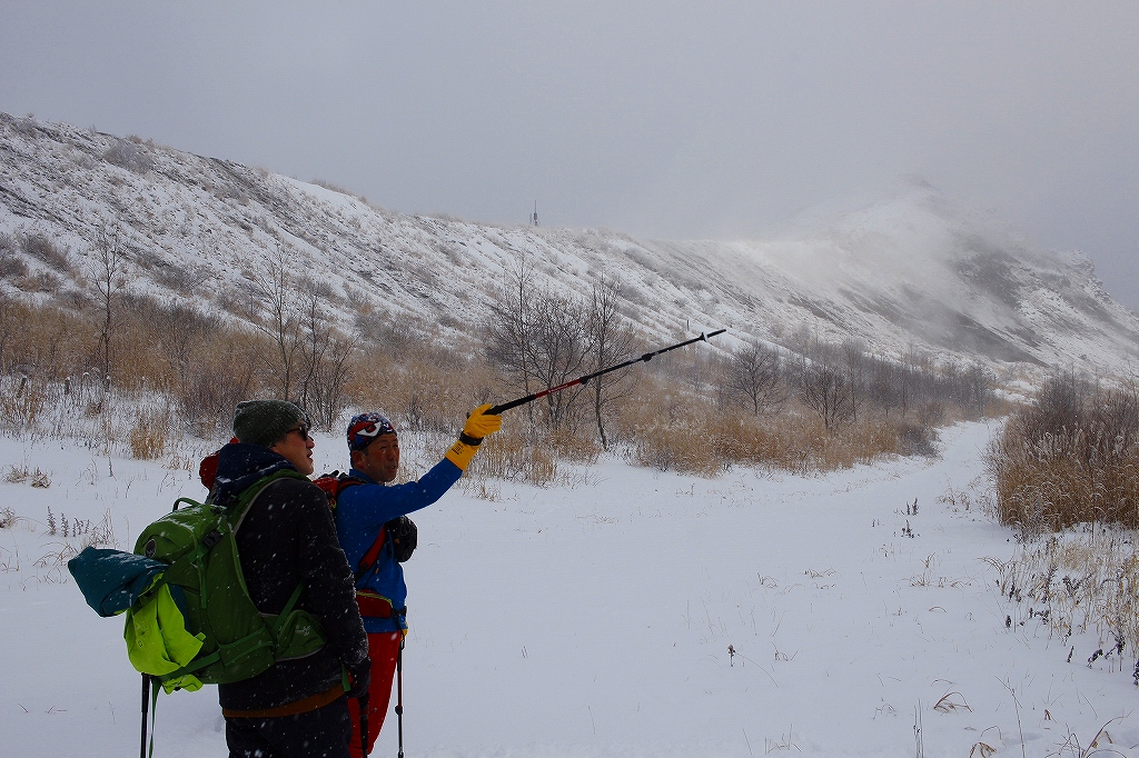 有珠山、12月11日-同行者からの写真-_f0138096_18244553.jpg